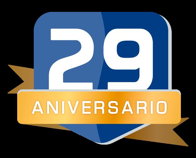 Insignia del 29 aniversario